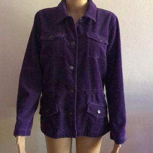Christopher & Banks Gorgeous Purple Blazer